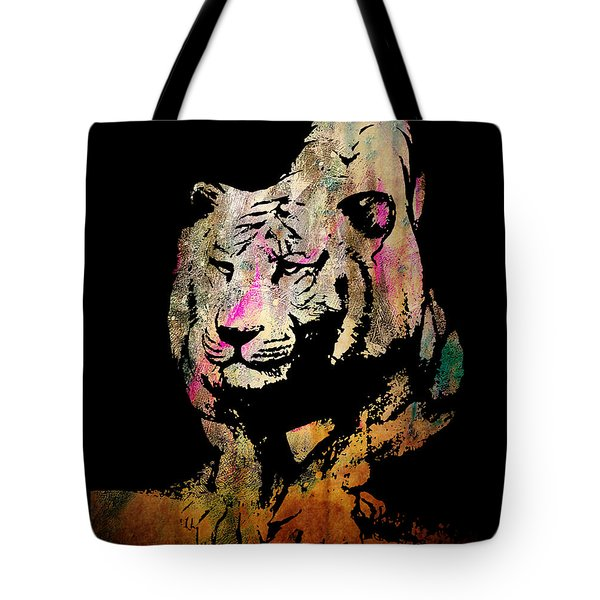 Tiger Collage #1 Tote Bag