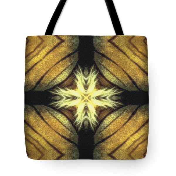 Tiger Cross Tote Bag by Maria Watt