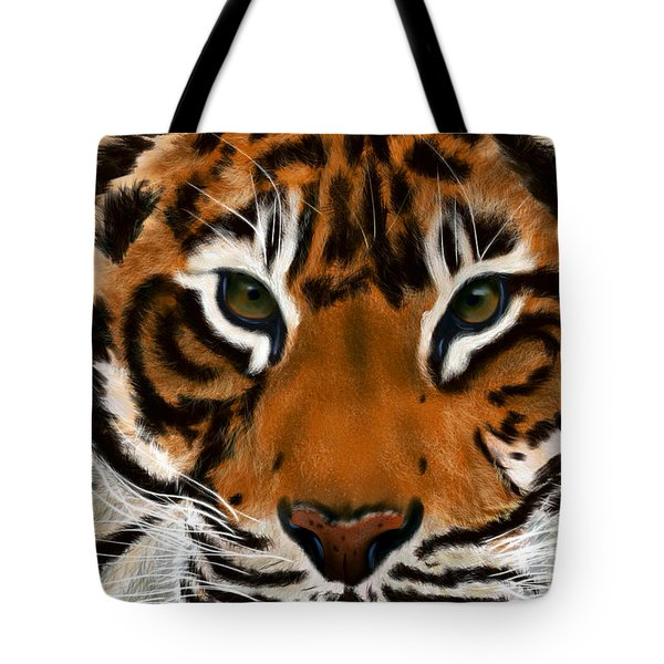 Tiger Eyes Tote Bag