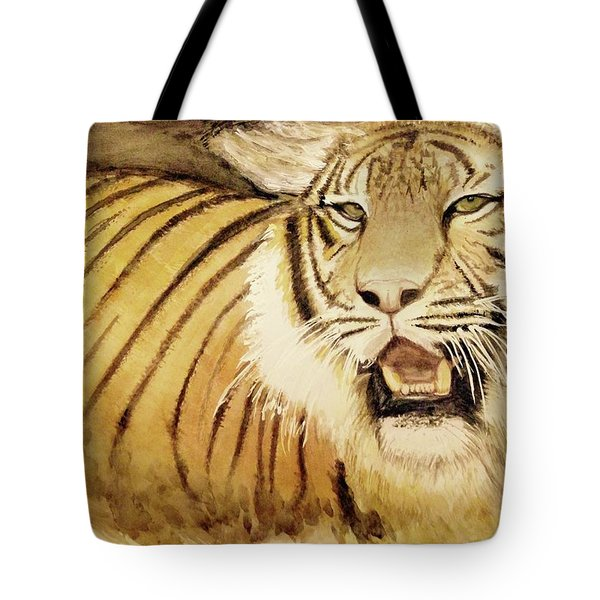 Tiger King Tote Bag