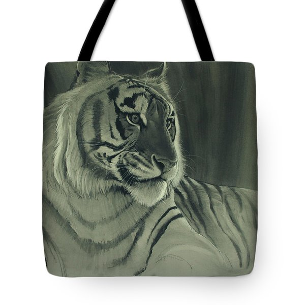 Tiger Light Tote Bag by Aaron Blaise