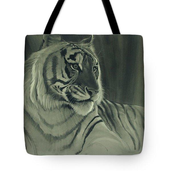 Tiger Light Tote Bag