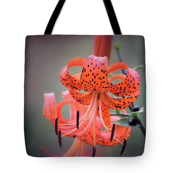Tiger Lily 2 Tote Bag