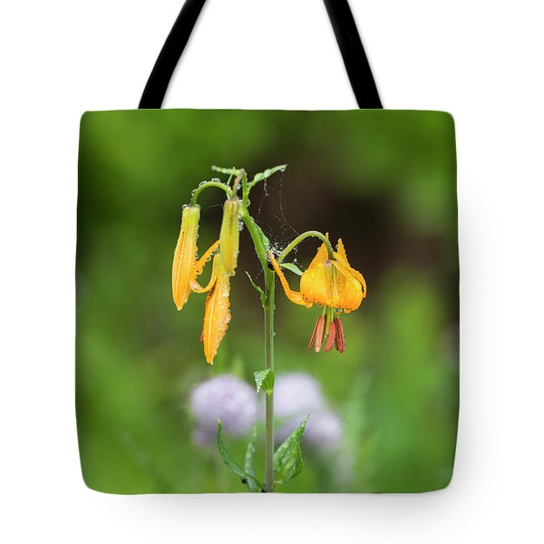 Tiger Lily In Olympic National Park Tote Bag