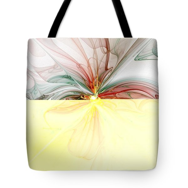 Tiger Lily Tote Bag by Amanda Moore