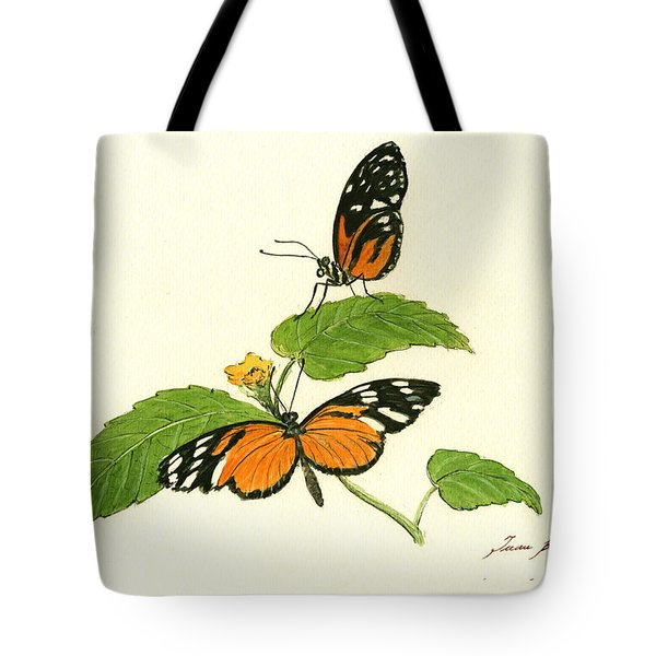 Tiger Longwing Heliconian Tote Bag