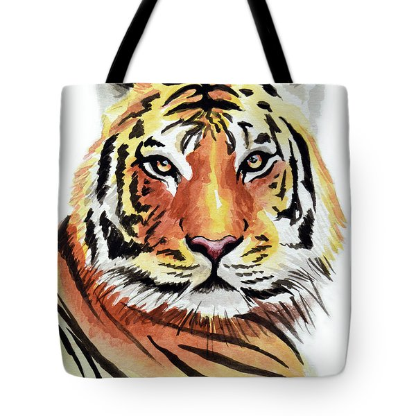 Tiger Love Tote Bag