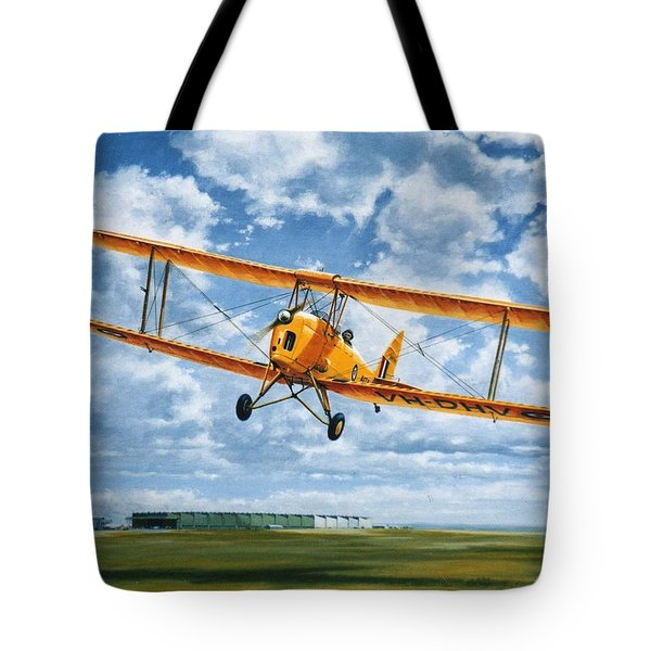 'tiger Moth - Wind Beneath My Wings' Tote Bag