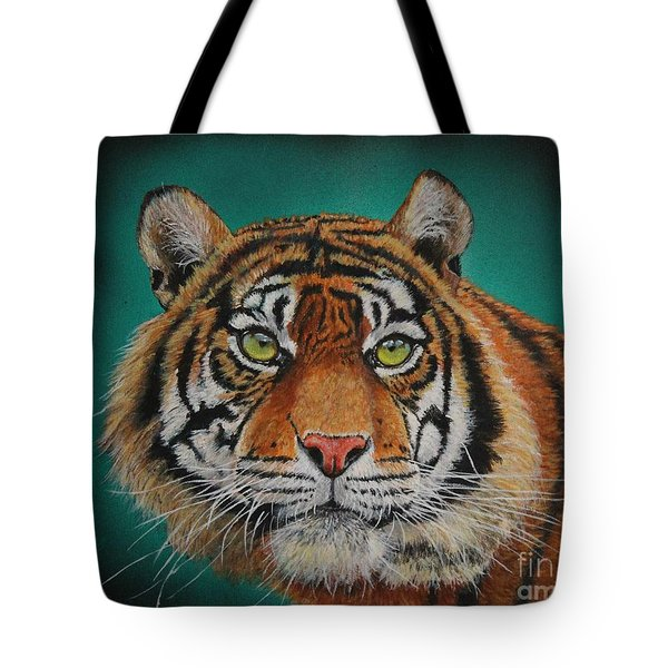 Tiger Portrait......amur Tiger Tote Bag