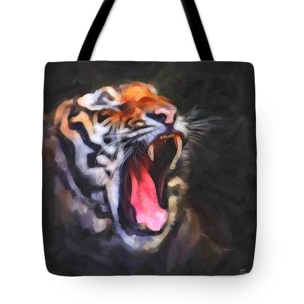 Tiger Roar Tote Bag