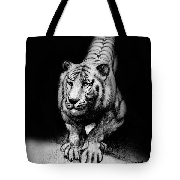 Tiger Study Tote Bag