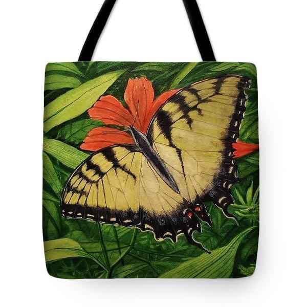 Tiger Swallowtail Tote Bag
