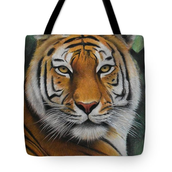 Tiger - The Heart Of India Tote Bag
