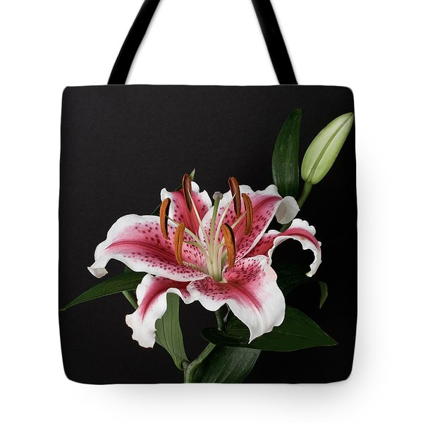 Tiger Woods Lily Tote Bag