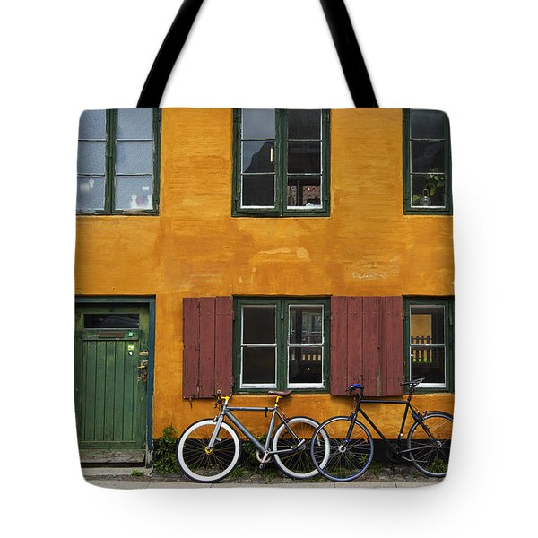 Tigergade Apartment Scene Tote Bag