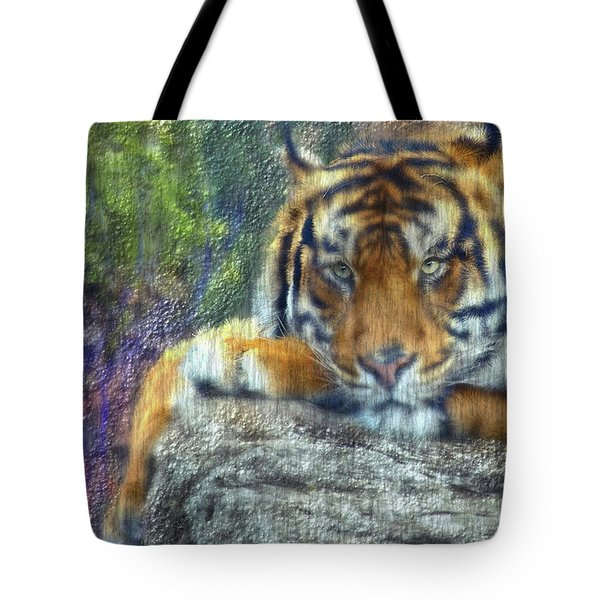 Tigerland Tote Bag by Michael Cleere