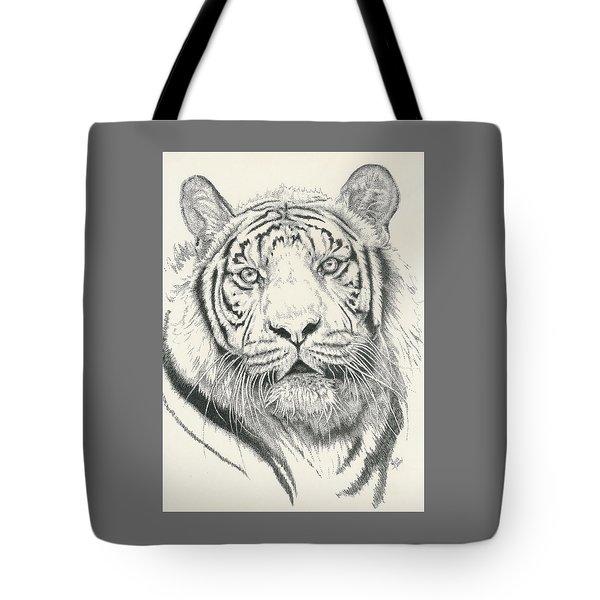 Tigerlily Tote Bag by Barbara Keith