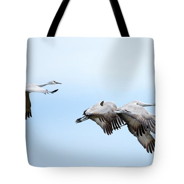 Tight Formation Tote Bag by Mike Dawson