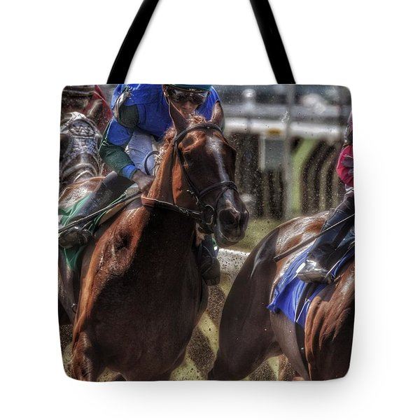 Tight Quarters Tote Bag