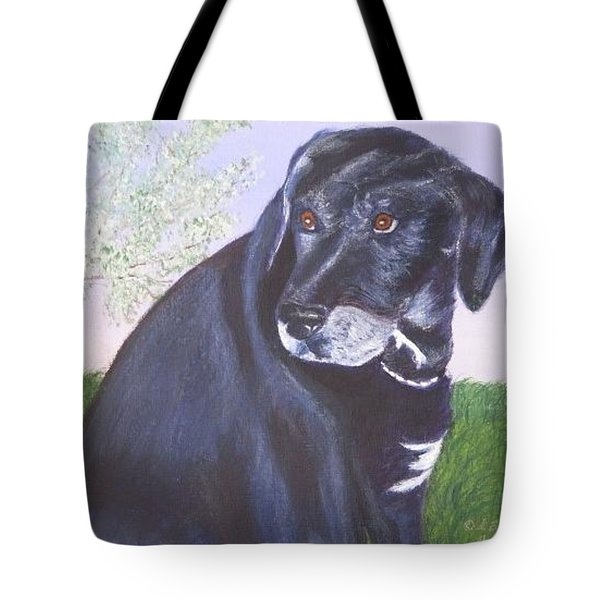 Tiko, Lovable Family Pet. Tote Bag