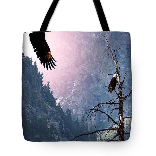 Till Death Do Us Part Tote Bag by Bill Stephens