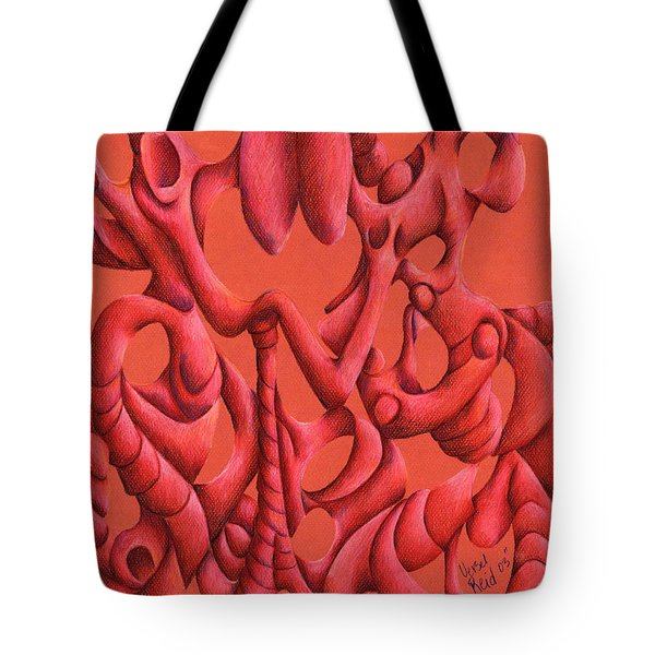 Till Death Do Us Part Tote Bag by Versel Reid