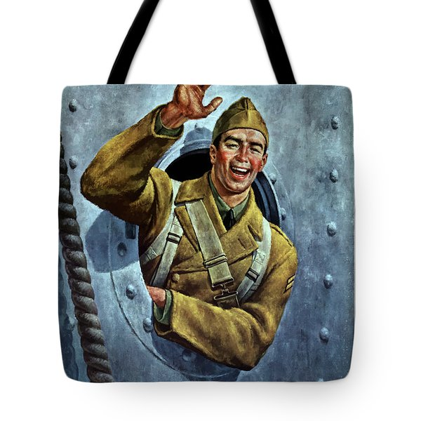 Till We Meet Again -- Ww2 Tote Bag