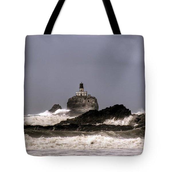 Tillamook Lighthouse Tote Bag
