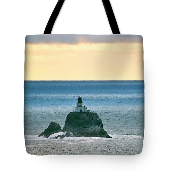 Tote Bag featuring the photograph Tillamook Lighthouse by Suzette Kallen
