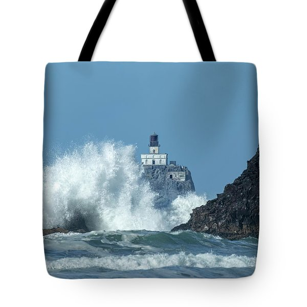 Tillamook Rock Light House, Oregon - Terrible Tilly Tote Bag
