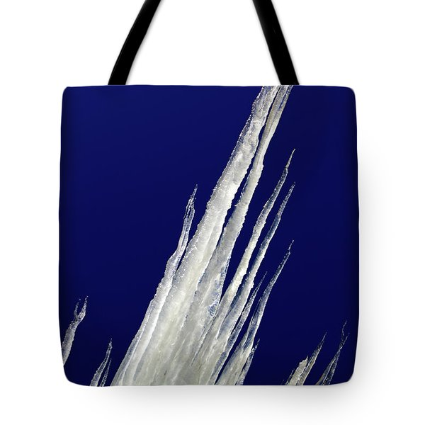Tilted Ice Tote Bag