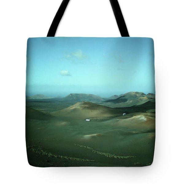 Timanfaya - Lanzarote Tote Bag by Cambion Art