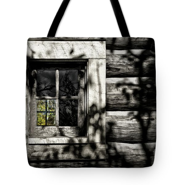 Tote Bag featuring the photograph Timber Hand-crafted by Brad Allen Fine Art