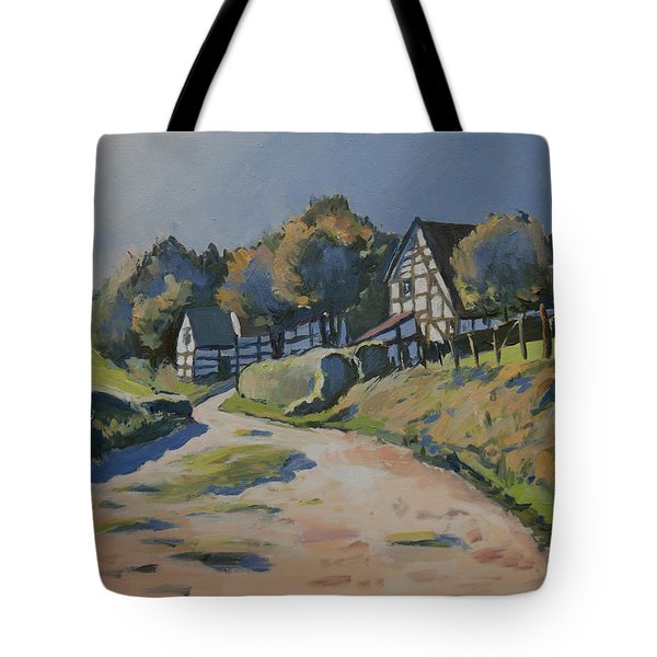 Timbered Houses In Terziet Tote Bag