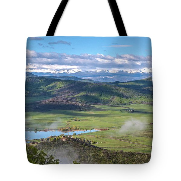 Timbers View  Tote Bag