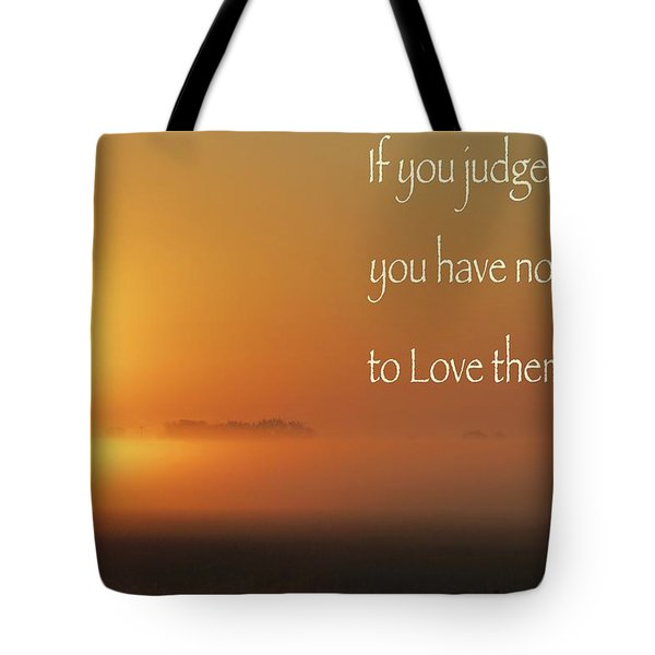 Time Adusted Tote Bag by David Norman