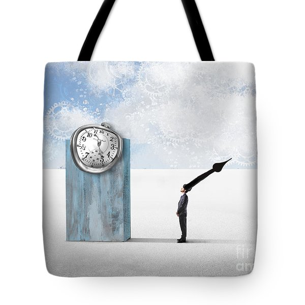 Time  Tote Bag by Aimelle ML