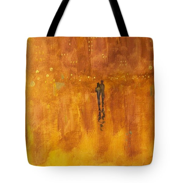 Tote Bag featuring the painting Time And Again #2 by Raymond Doward