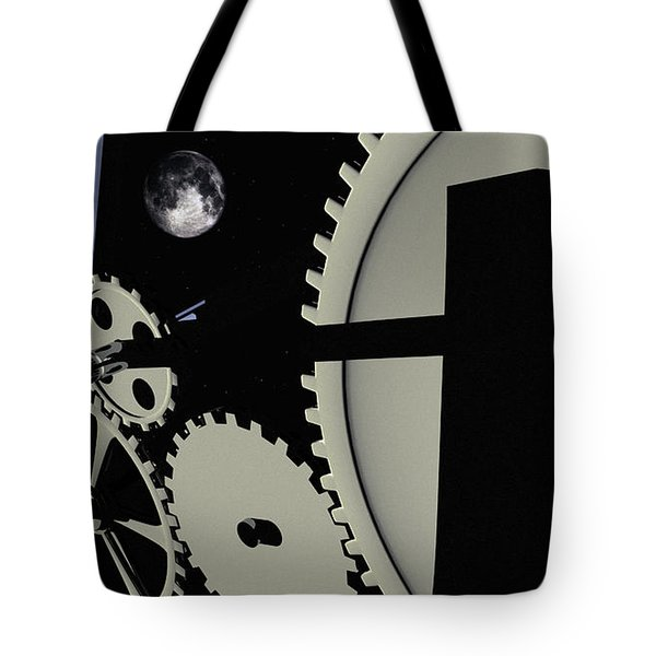 Time And Space Tote Bag by Richard Rizzo