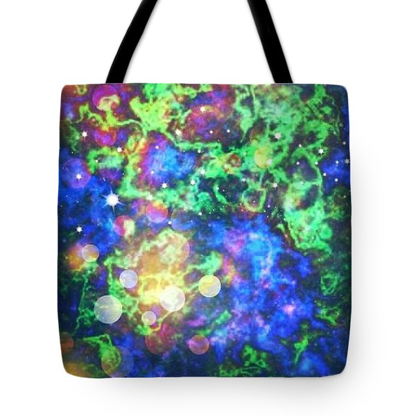 Tote Bag featuring the photograph Chaos by Robin Regan