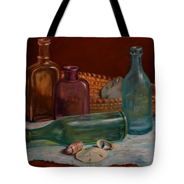 Tote Bag featuring the painting Time And Tides by Dorothy Allston Rogers