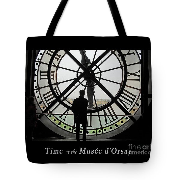 Time At The Musee D'orsay Tote Bag by Felipe Adan Lerma