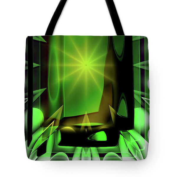 Time Barrier Tote Bag