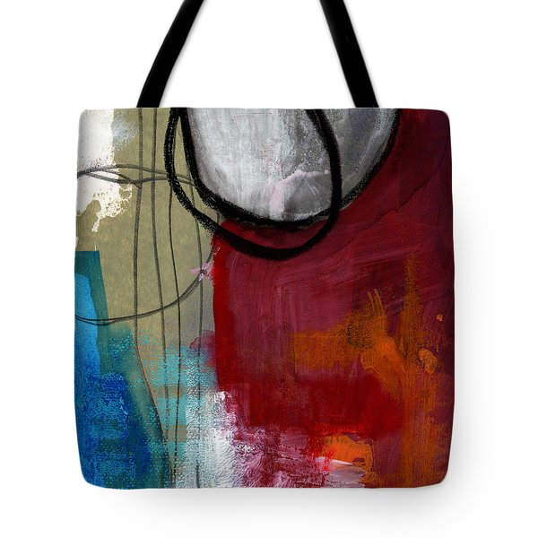 Time Between- Abstract Art Tote Bag