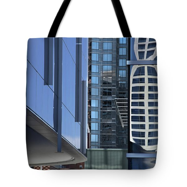 Time Dialing Tote Bag