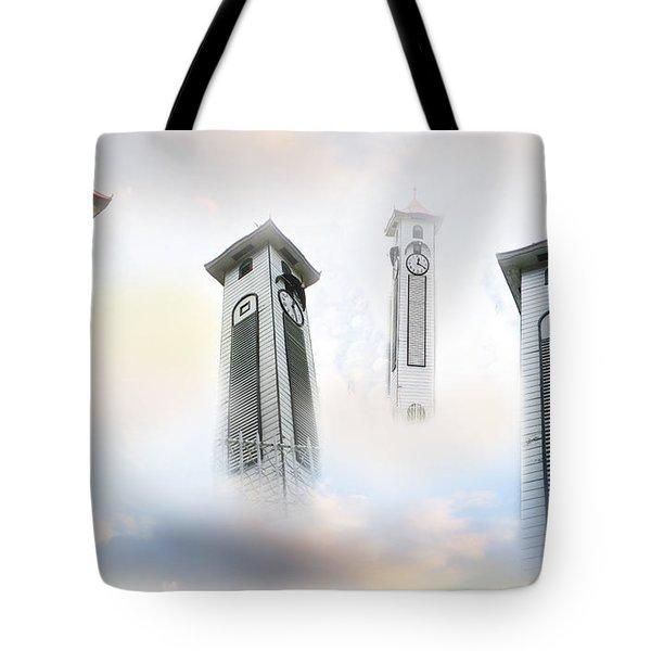Time Flies Tote Bag by Eena Bo