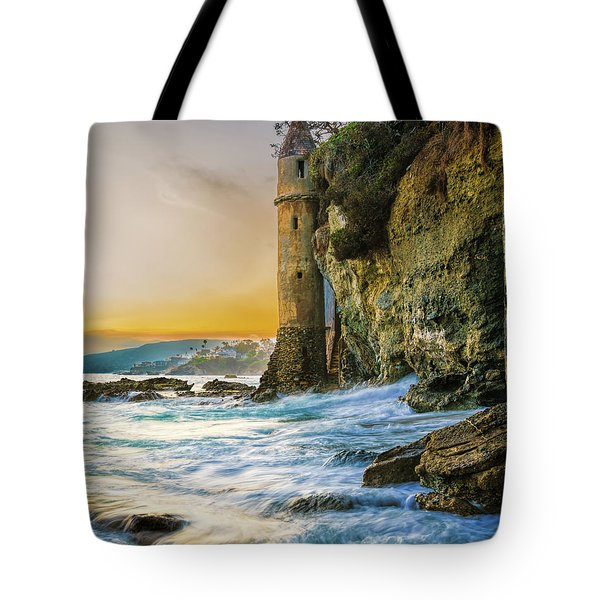 Time Flows I Wait Tote Bag