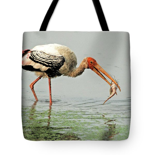 Time For A Meal Tote Bag by Pravine Chester