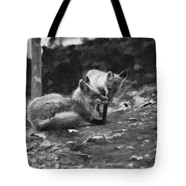 Time For A Nose Kiss Tote Bag
