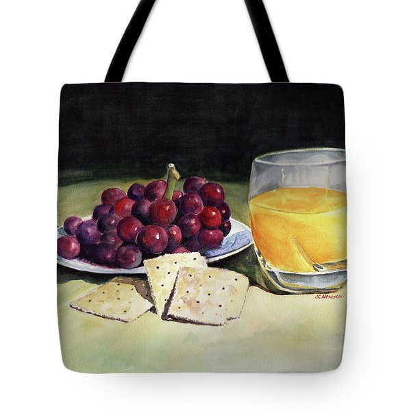 Time For A Snack Tote Bag